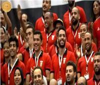 فيديو| أبطال دورة الألعاب الإفريقية في مقدمة حضور مؤتمر الشباب