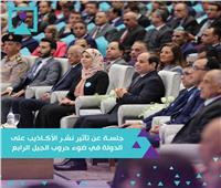 بث مباشر| انطلاق جلسة «تأثير نشر الأكاذيب على الدولة» في مؤتمر الشباب الثامن