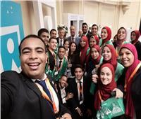 طلاب جامعة عين شمس يشاركون في المؤتمر الثامن للشباب