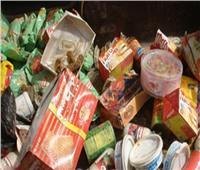 إعدام 657 كيلو أغذية فاسدة بمصنع في العاشر من رمضان
