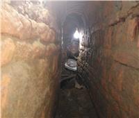 الكشف عن معبد بطلمي أثناء التنقيب عن الأثار بمدينة المنشاة بسوهاج