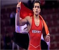 المصري محمد إبراهيم يتأهل لنصف نهائي بطولة العالم للمصارعة الرومانية