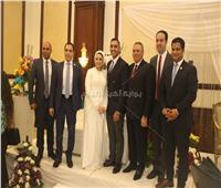 كبير الياوران برئاسة الجمهورية يحتفل بعقد قران ابنه