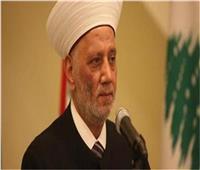 مفتي لبنان يشيد بمكانة مصر في العالمين العربي والإسلامي