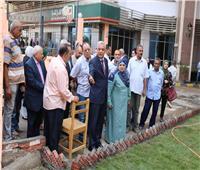 رئيس جامعة المنوفية يتابع استعدادات كلية الصيدلة لاستقبال الطلاب
