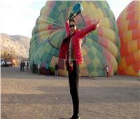 حكايات| «البالون الطائر» في الأقصر.. تاريخ يُقرأ من السماء