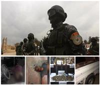 شاهد|تفاصيل مقتل أخطر مجموعة إرهابية بشمال سيناء