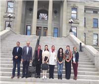 «مونتانا» الأمريكية تستقبل وفد جامعة المنصورة