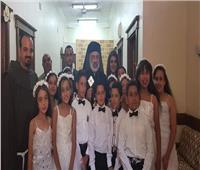 كنيسة الشهيد مارجرجس للكاثوليك بالشورانية تحتفل بيوم المناولة