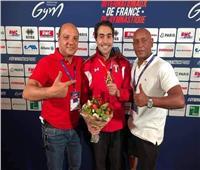 أبو القاسم «بعد التتويج بذهبية كأس العالم للجمباز»: أحلى احساس في الدنيا
