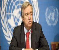 جوتيريش: على قادة العالم التسلح بـ«الخطط» خلال قمة المناخ