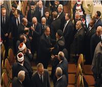 """محافظ الإسكندرية يتقدم مُشيّعى جنازة شهيد الواجب """" المجند عبد الرحمن ياسر"""""""