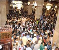 المئات يؤدون صلاة الجنازة على «سعد جاويش» بالجامع الأزهر