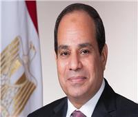 الرئيس السيسى يستقبل رئيس مجلس الأمة الكويتي