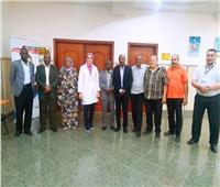 «مؤسسة الكبد» بالدقهلية تستقبل وفد نقابة الأعمال المالية السودانية