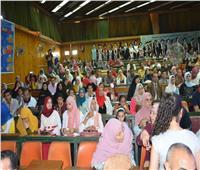 جامعة أسيوط تحتفل بتخريج الدفعة الـ54 من طلبة «الطب البيطري»