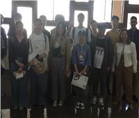 ألسن عين شمس تستقبل 11 طالب صيني لدراسة «اللغة العربية»