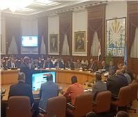 بدء اجتماع المجلس التنفيذي لمحافظة القاهرة