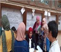 «بنك مصر» يباشر عملة بـ ألسن عين شمس لتسليم الطلاب البطاقات الإلكترونية