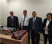 جمارك مطار القاهرة تحبط محاولة تهريب سجائر إلكترونية بـ 300 ألف جنيه