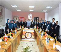 جامعة سوهاج تنفذ نموذج محاكاة لمجلس القمة العربية