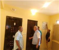 مساعد نائب رئيس المجتمعات العمرانية يتفقد مشروعات الإسكان بحدائق أكتوبر