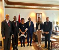 وزير الثقافة تصل إنجولا للمشاركة في منتدى إفريقيا لثقافة السلام