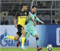 دوري أبطال أوروبا| برشلونة يتعادل مع دورتموند بدون أهداف