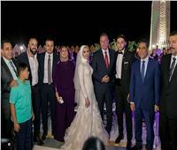 صور| الخطيب ونجوم الأهلي يحتفلون بزفاف كريم نيدفيد