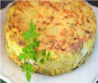 طبق اليوم .. «عجة البطاطس»