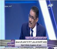 نقيب الصحفيين: الجيش أنقذ مصر يوم 28 يناير .. والرئيس لا يريد مصلحة شخصية