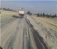 تفاصيل التحويلات المرورية على طريق أسيوط الصحراوي الغربي