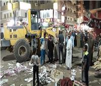 «أحياء أسيوط» تكثف حملاتها للنظافة وتسهيل الحركة المروية بمحيط المدارس