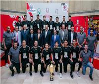مجموعة مصر القابضة للتأمين تكرم أبطال العالم لكرة اليد