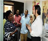 «القومي للمرأة» يستقبل وفد اللجنة القومية لحقوق الإنسان بدولة زيمبابوي