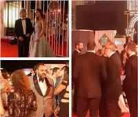 صور| بدء توافد النجوم على حفل افتتاح مهرجان الجونة