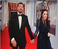 وصول عمرو يوسف وكندة علوش لمهرجان الجونة السينمائي