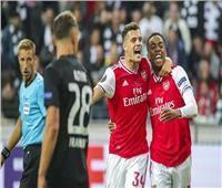 شاهد| أرسنال يفوز بثلاثية على فرانكفورت في الدوري الأوروبي