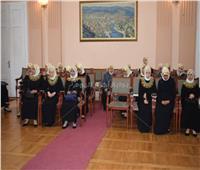 أوركسترا النور والأمل يزور عمدة أوزيتشي بصربيا