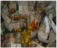 ضبط 6 أطنان زيت طعام فاسد بمحل بالإسكندرية