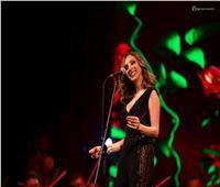 صور| أنغام تتألق في الإسكندرية بمصاحبة المايسترو هاني فرحات