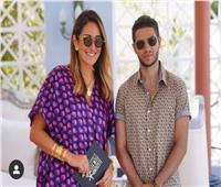 أمينة خليل تلتقي مينا مسعود في الجونة
