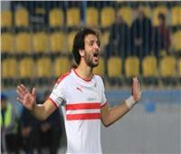 السوبر المصري| فيديو.. محمود علاء يسجل الهدف الثاني للزمالك