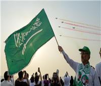 اليوم الوطني الـ89| بالصور.. «الصقور السعودية» تزين سماء المملكة