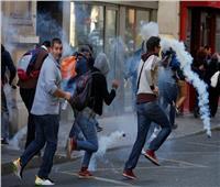 من جديد| تظاهرات «فرنسية» بباريس..والشرطة ترد بالاعتقال والغاز المسيل للدموع