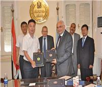 توقيع اتفاقيات تعاون مع مفوضية التعليم بإقليم تيانجين الصيني