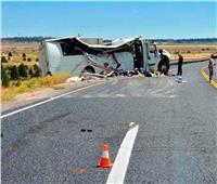 مصرع 4 وإصابة 31 سائحا في حادث سير بولاية يوتا الأمريكية