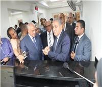 وزير التموين ومحافظ الجيزة يفتتحان 4 مكاتب تموينية بعد تطويرها
