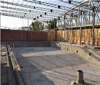 وزير الشباب والرياضةيتفقد مشروع إنشاء حمام سباحة بمركز شباب «ميت غمر»