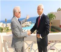 محافظ جنوب سيناء يستقبل سفير «بيلا روسيا»